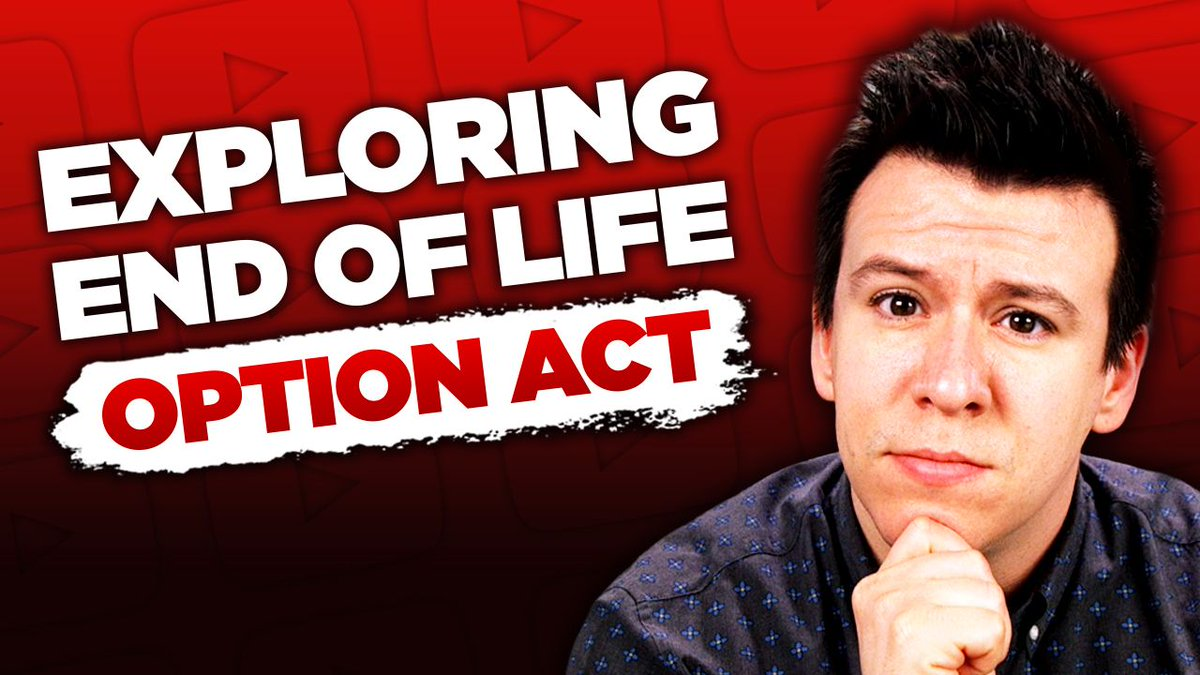 This Is The Legal Battle Around The End of Life Option Act and Why It Matters... https://youtu.be/m0FF7ta8Gq4