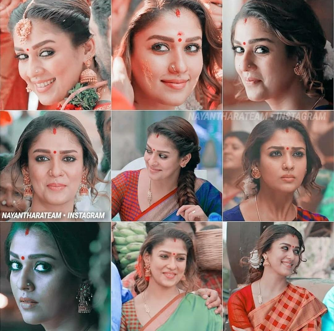 The different facets of #LadySuperstar #Nayanthara in #Viswasam 👌👌  Amazon Prime release, Telugu & Kannada dubbed versions release up next..