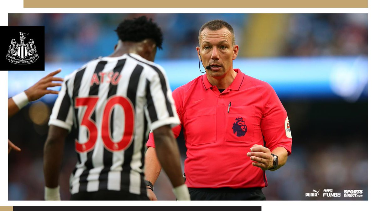 ⚖ The match officials have been confirmed ahead of Saturday's @premierleague visit of @htafcdotcom.  Read more: https://www.nufc.co.uk/news/latest-news/match-officials-confirmed-for-terriers-clash … #NUFC