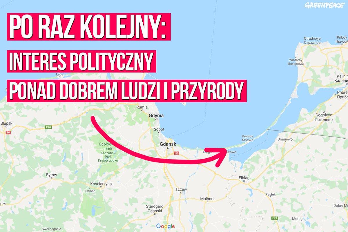Przekop #MierzejaWiślana nie ma uzasadnienia ekonomicznego, społecznego ani środowiskowego. To kolejny przypadek, w którym przyroda jest niszczona dla osiągnięcia celów politycznych. Znów minister środowiska Henryk #Kowalczyk lekceważy polskie i unijne ustawodawstwo.