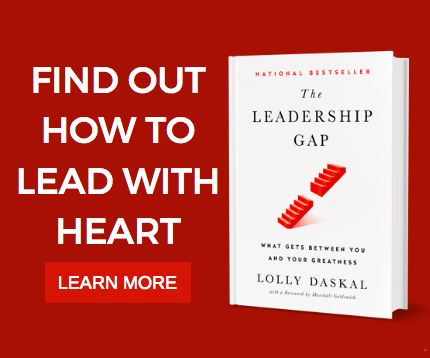 "Find out how to lead with heart.   You owe to your employees.   >>> ""The Leadership Gap"" By @LollyDaskal http://amzn.to/2nfhSuL   #TheLeadershipGap #Book #Leadership #Management #HR"