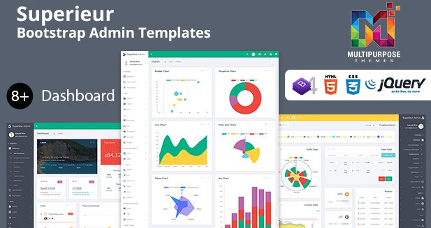 Fantastic Superieur Bootstrap Admin Templates which will make your online admin dashboard area look more beautiful and easier. - https://themeforest.net/item/superieur-admin-responsive-bootstrap-4-admin-template-dashboard-web-app/22172702… . . #AdminPanel #AdminTemplates #Bootstrap4 #Bootstrap4Admin #Bootstrap4AdminDashboard #CMS #Corporate #crm #CSS3 #Dashboard