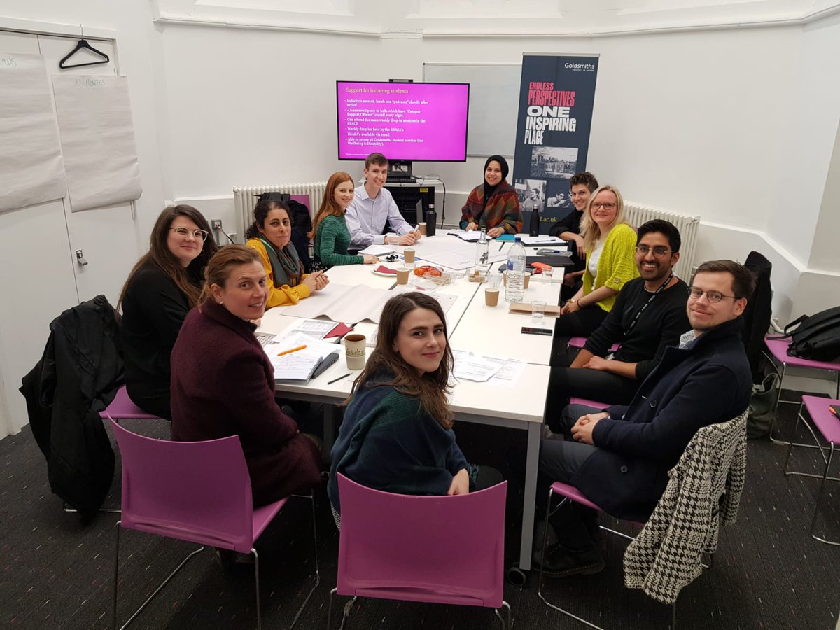 Great to join the @GoldsmithsUoL International Mobility team last Friday to discuss inclusive access to mobility programmes in higher education. Great strategy discussions and look forward to seeing programmes develop over the next year... #inclusiveeducation #accessforall