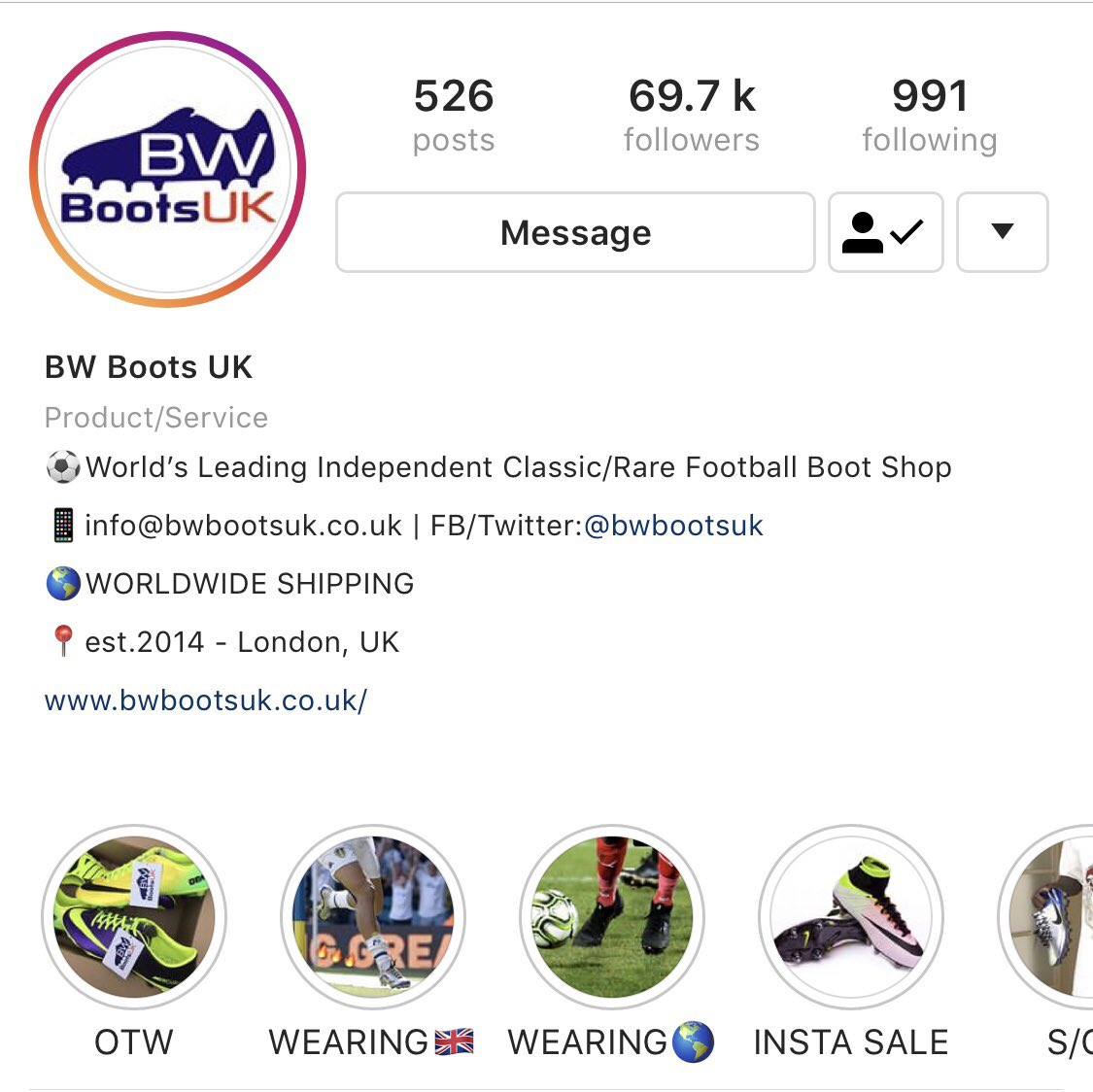 976813d23e01 BW Boots UK - @BWBOOTSUK Twitter Profile and Downloader | Twipu