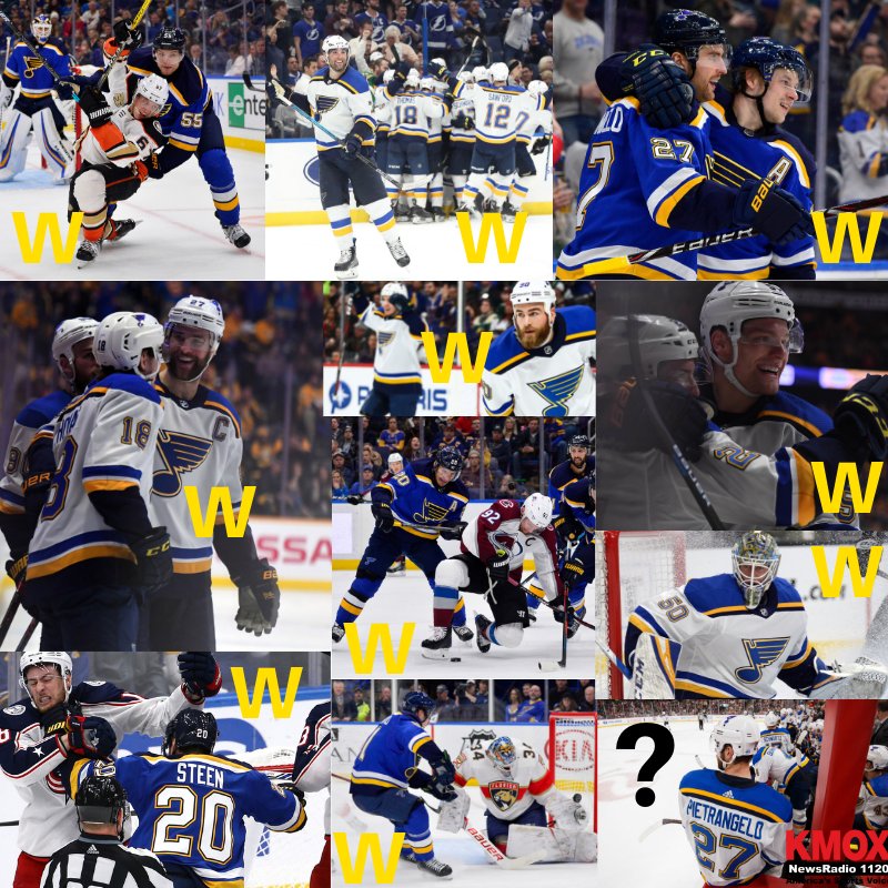 How much have we enjoyed this #stlblues winning streak? Let us count the ways!  More on the backbone behind it all:  https://t.co/4xU2ltisEn