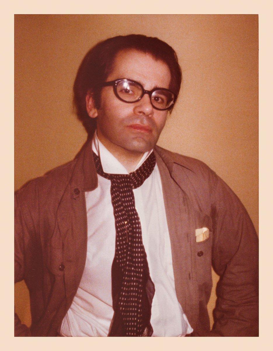 Karl Lagerfeld captured by Antonio Lopez in 1976 https://t.co/v8lPppcXpe