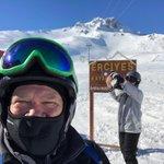 Image for the Tweet beginning: Turkey: Skiing Mount Erciyes just