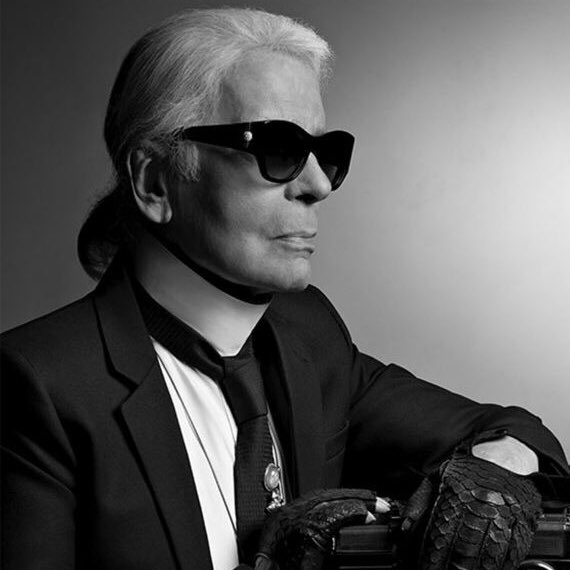 You bought so much beauty, style and grace to this world. Karl, you will forever be a true legend, an icon, an inspiration.  #KarlLagerfeld