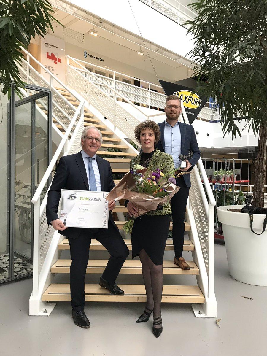 ECOstyle wint Tuizaken Retail Award 2018 in Nieuwegein. prachtige waadering voor hardwerkend @ECOstyle team. https://t.co/aomu0OcFB1
