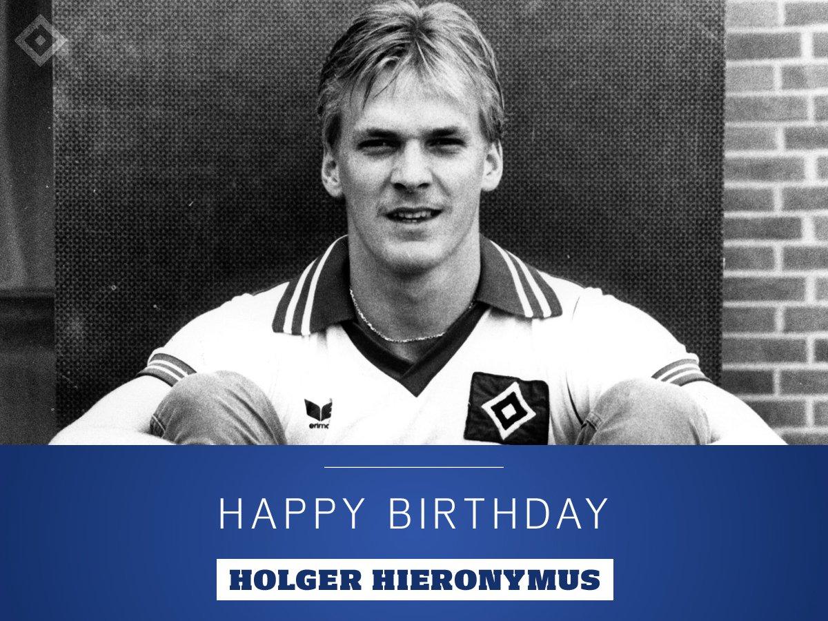 #HappyBirthday, Holger Hieronymus 🎉 Wir gratulieren unserem früheren Defensivakteur und ehemaligen Sportvorstand zum 60. Geburtstag 🎁 Viel Erfolg für das neue Lebensjahr 💐 #nurderHSV