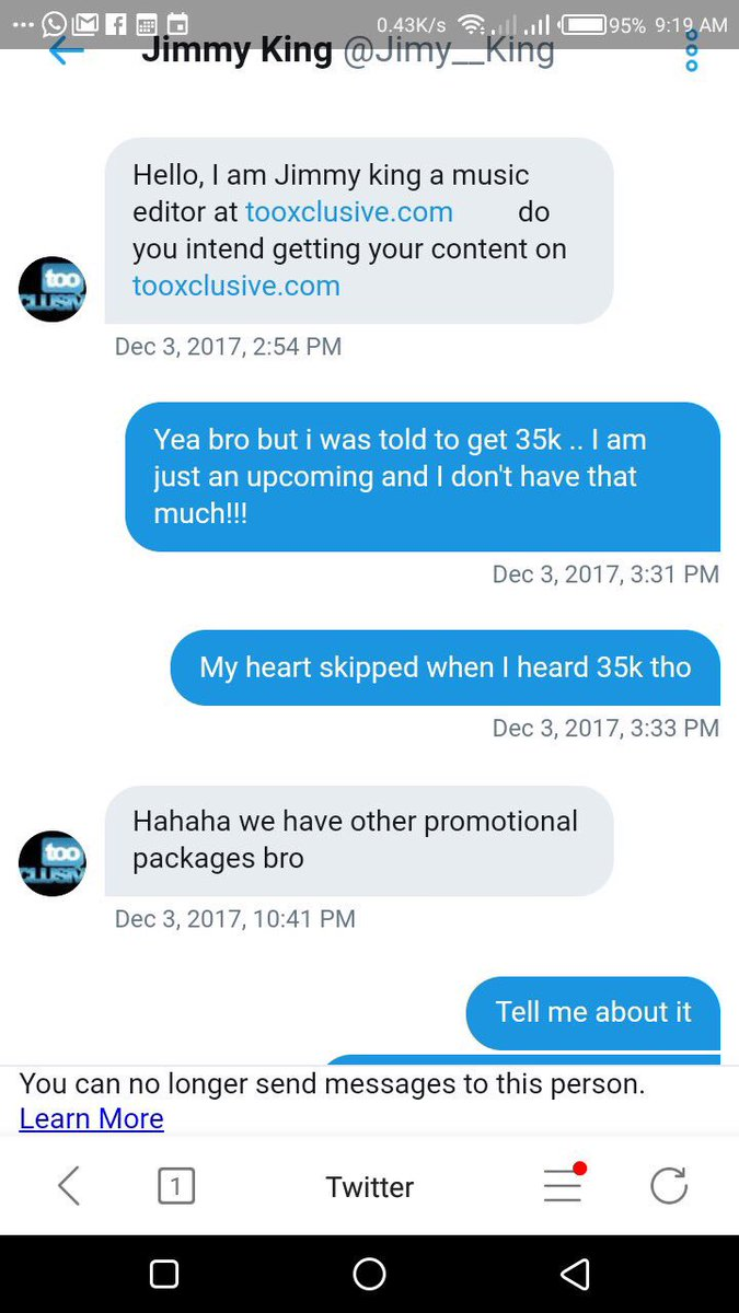 I want to tell you a story of how I was scammed December 2017   thread