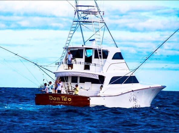 Isla Mujeres, MX - Don Teo went 24-35 on Sailfish.