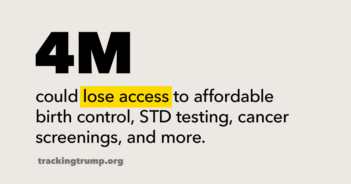 We're on alert for Trump's final gag rule, which would dismantle Title X — the nation's program for affordable birth control and reproductive health care — and make it harder for patients to get the care they need.  Learn more: https://t.co/NAji5cKpSJ #NoGagRule  #TrackingTrump