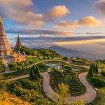 Image for the Tweet beginning: Vienna, Austria to Bangkok, Thailand