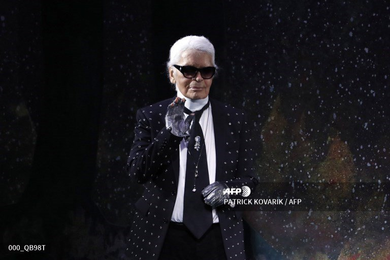🇫🇷 Fashion mourns death of the Kaiser Karl Lagerfeld #AFP  https://t.co/YFuq7bB2Ce