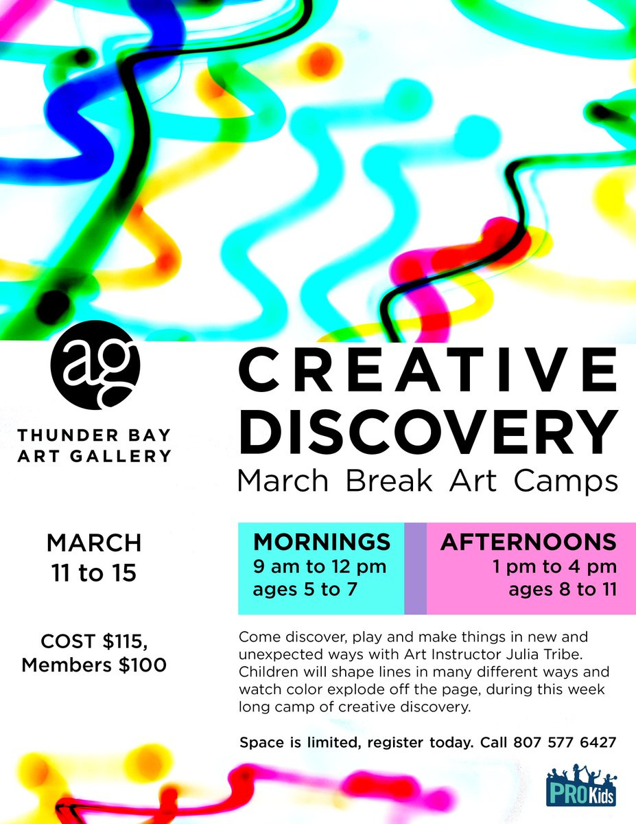 Make the most of this March break by registering for this fun-filled week of creativity.