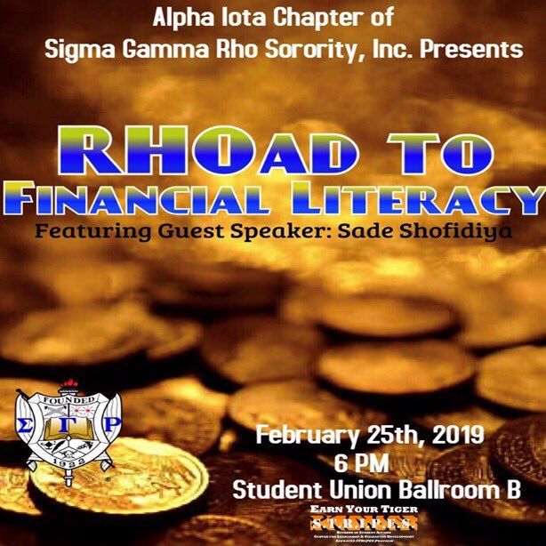 Do you want to get a better understanding of your student loans? Come out and learn everything you need to know about Student Debt and how to manage it all while earning your S.T.R.I.P.E.S.! #SSU