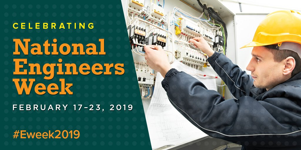 Happy #Eweek2019! We're celebrating engineers in the electric power industry. In the engineering field, there are endless possibilities. Learn more:  https://t.co/qFc2nE7jZ9