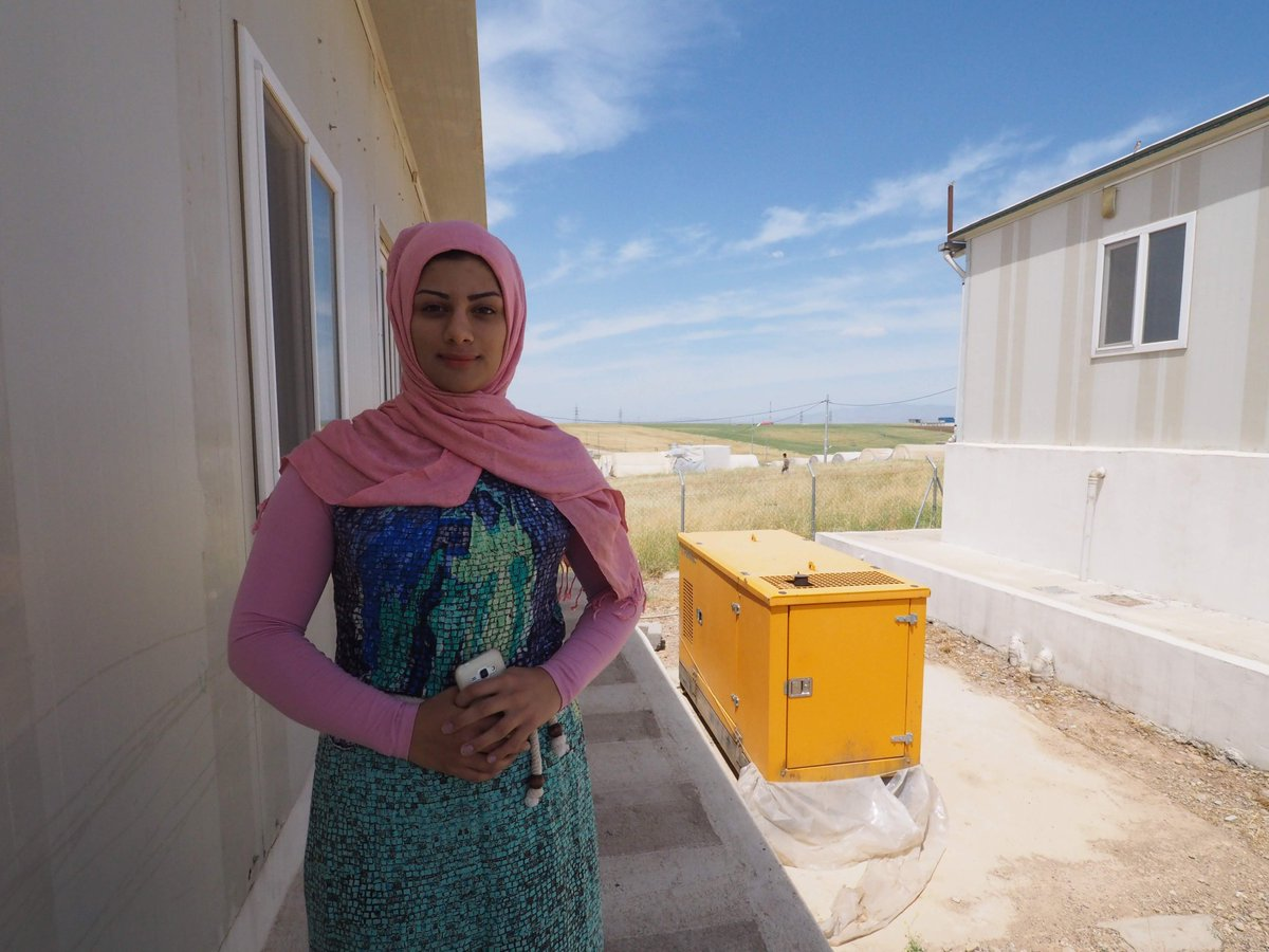 """test Twitter Media - Hind, an AMAR Woman Health Volunteer, is originally from #Mosul.   When we asked her about her ambitions, she told us she loves #fashion.   """"I want to be a fashion designer. I love to watch #ProjectRunway on my phone, and I imagine being on the series too!"""" @ProjectRunway #Iraq https://t.co/NRzShTxrBm"""