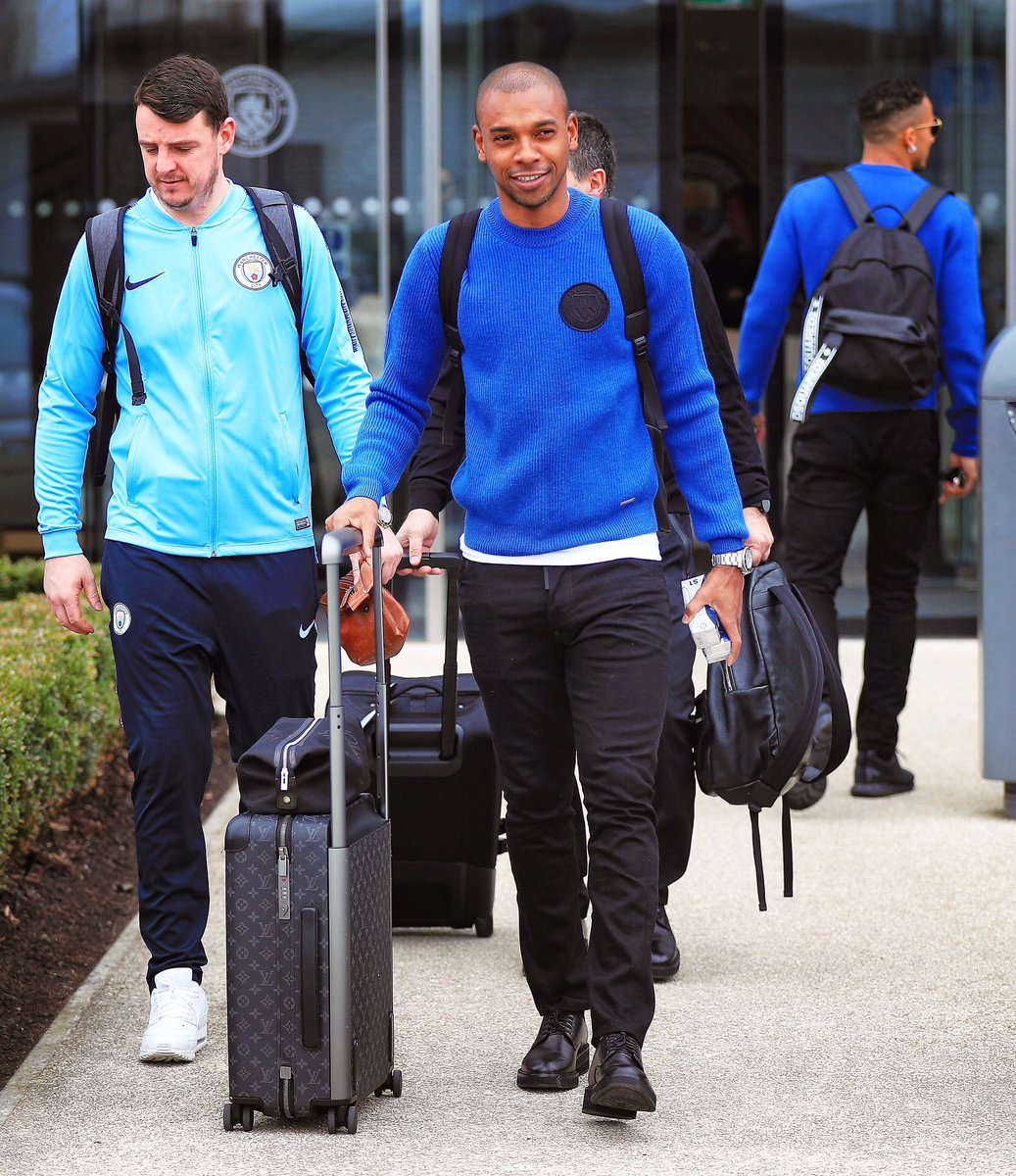Off to Germany 🙏🏾✈️ #cmoncity #championsleague