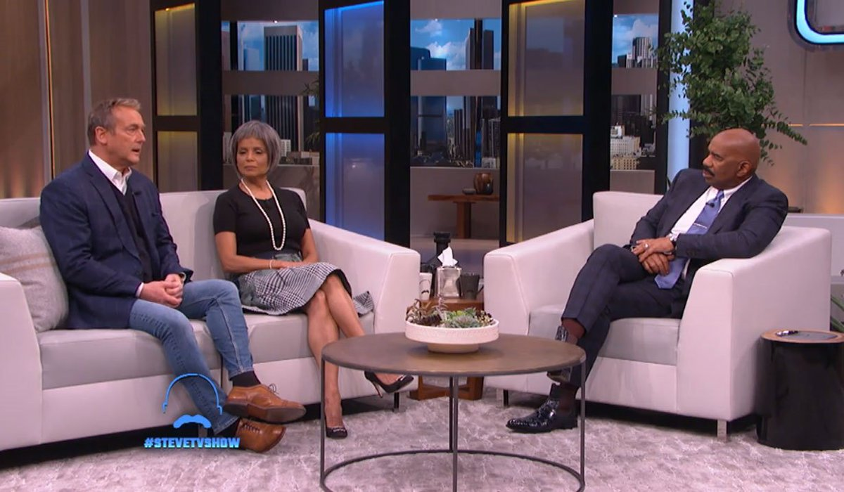 WATCH @kristoffstjohn1 last talk show appearance with @IAmSteveHarvey, also @DougDavidsonYR & @victoriarowell remember their beloved friend and castmate...  https://soaps.sheknows.com/the-young-and-the-restless/news/535424/video-doug-davidson-victoria-rowell-remember-kristoff-st-john/…