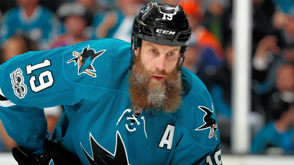 安堵竜's photo on joe thornton