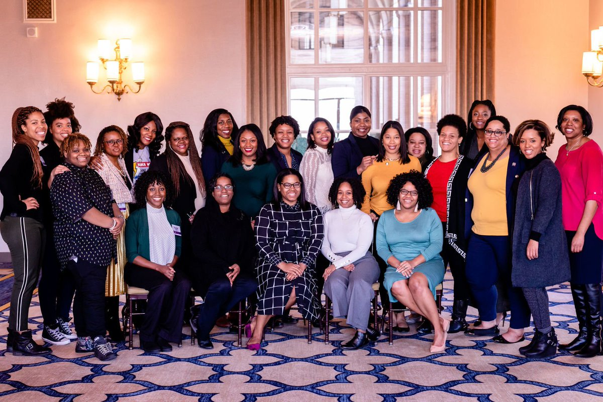 Black women continue to be the Democratic party's strongest and most reliable voting blocs. They continue to get a seat at the table, but never receive a plate and a new group is making sure that changes:  https://t.co/MtK9d1JSCK