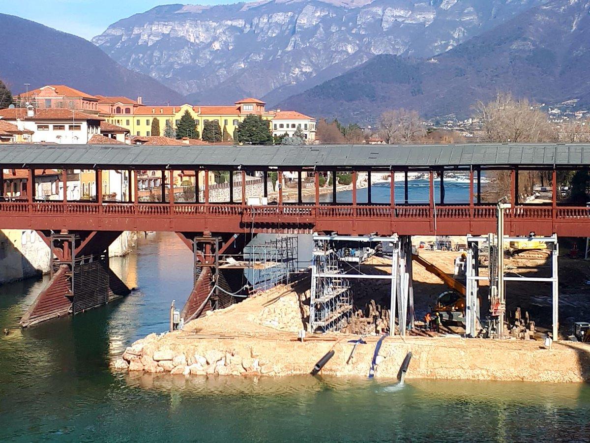 Bassano del Grappa, il Ponte è tornato dritto. «...