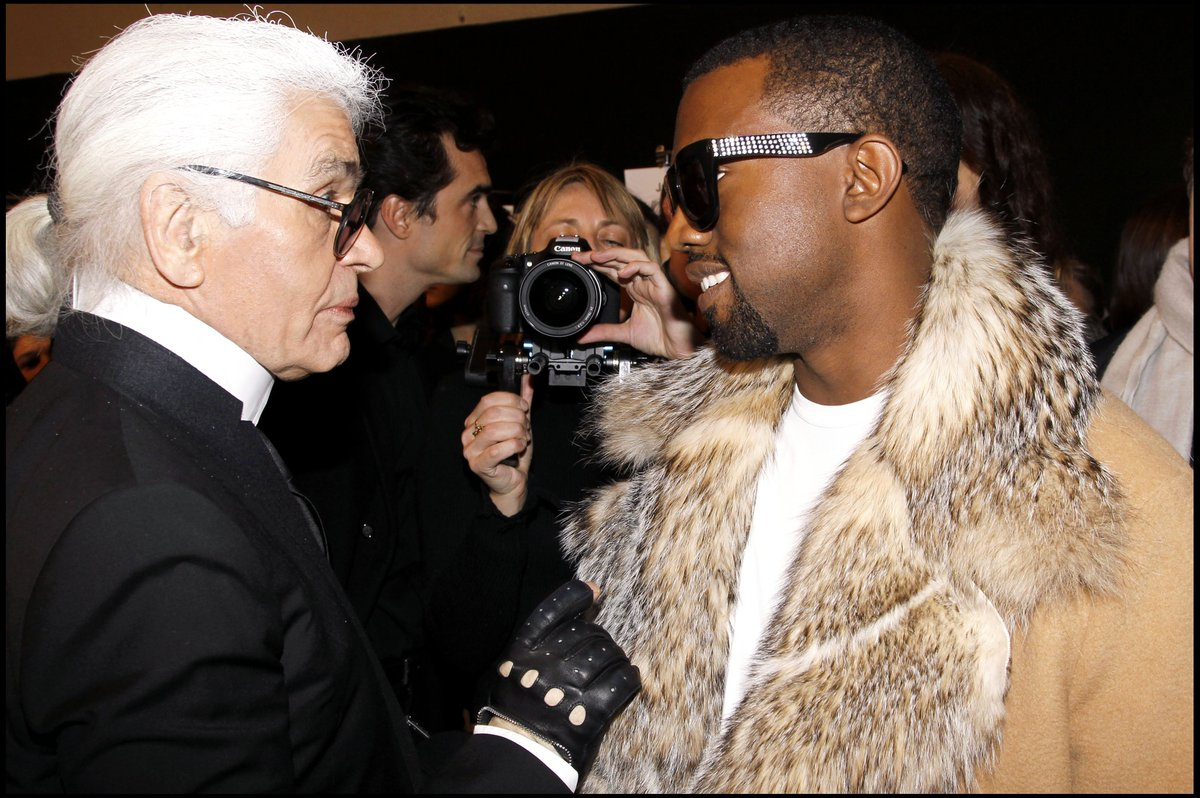 Rest In Peace Karl Lagerfeld 🙏