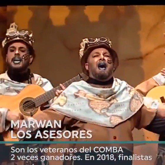 🎉Arranca el #COMBA2019 en el @lopezdeayala  🎭Abren el telón @MurgaCallejeros, @MurgaInformales, @LOSMIRNDA, @MurgaSaTersiao, @MurgaMarwan  🔴Síguenos en directo en 📻, 📺 y el canal más completo en YouTube  👉https://t.co/tOTeda9bDb  Aquí, la previa▶️👇  #EXN #carnavalCEX https://t.co/rfWSMXRGO4