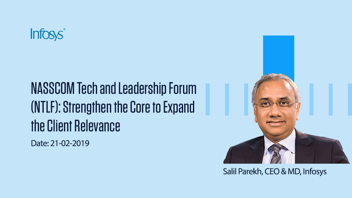Join our CEO Salil Parekh and other distinguished panelists at @NASSCOM Tech and #Leadership Forum, as they discuss how to build an ecosystem of #ideas and strategies to increase customer relevance http://bit.ly/2BF8fv6  #NavigateYourNext #ShapingTheFuture #NASSCOM_TLF