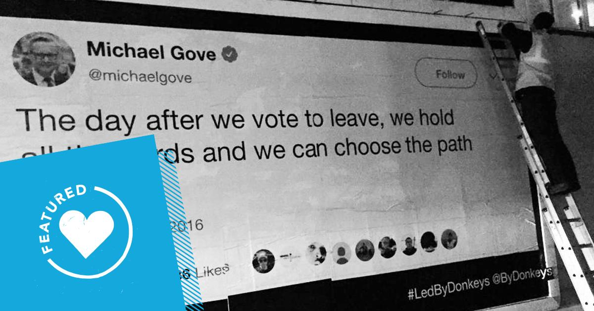 💥 Led by donkeys?  The @ByDonkeys movement shows no sign of slowing up, now backed by almost 6,000 supporters to the tune of £163,408 . . . and counting https://www.crowdfunder.co.uk/by-donkeys