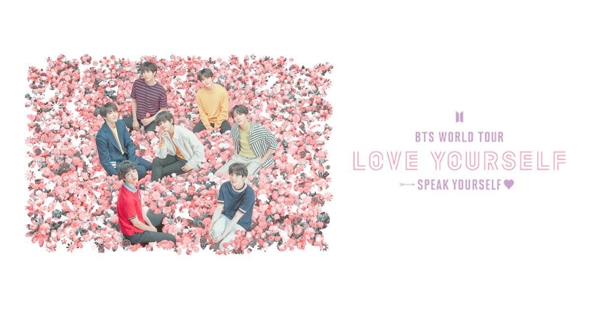 JUST ANNOUNCED: @BTS_twt WORLD TOUR 'LOVE YOURSELF: SPEAK YOURSELF' is coming to @MLStadium on Saturday, May 18. Tickets go on sale 3/1 at 10am.   Get more info here:  https://t.co/nThJMLEjAH