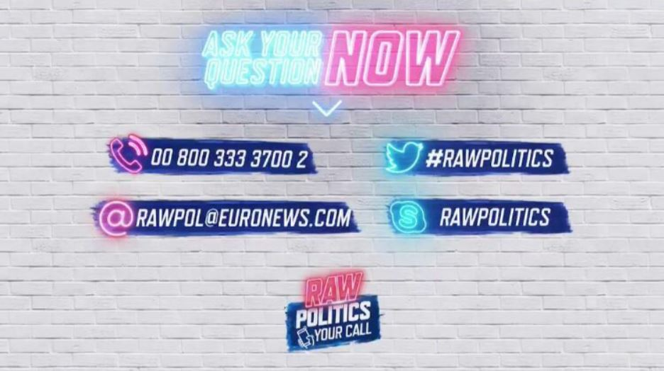 #RawPolitics   On 'Your Call' we want to hear from you!   ➡️ Has Brexit killed compromise?  ➡️ Should migration still be a topic of debate as we head into EU elections? ➡️ Do politicians deserve immunity?   📺Weigh in on the discussion. 7.00pm CET.