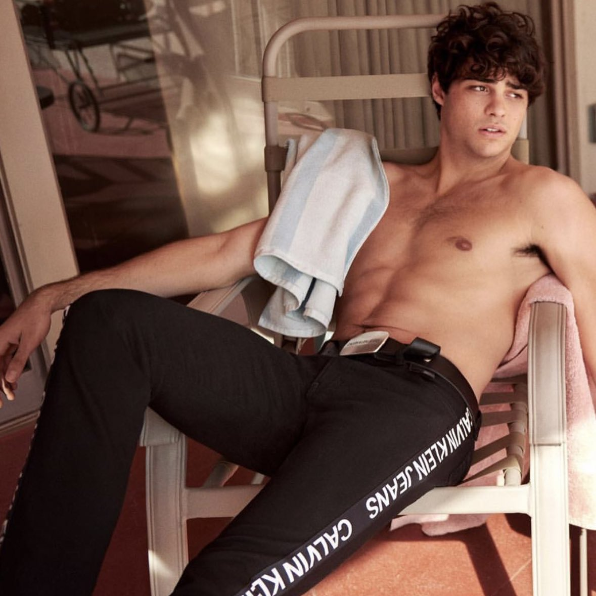 15 Reactions To Noah Centineo's New Calvin Klein Pics