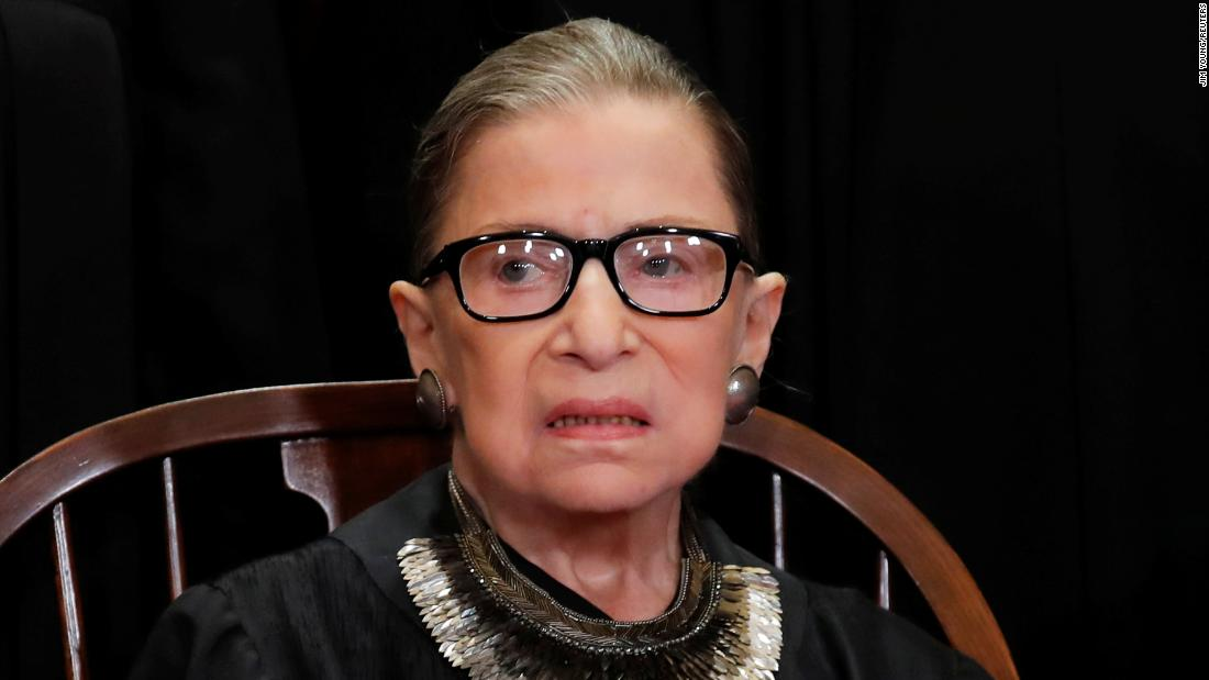 JUST IN: Justice Ruth Bader Ginsburg takes the bench at the Supreme Court for oral arguments for the first time since announcing cancer surgery in December  https://t.co/Td5KDpOEyZ