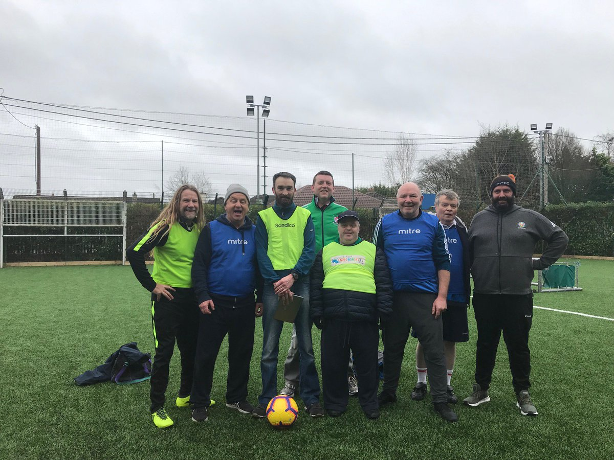 Great Fun this morning at Walking Football Kildare @WalkingFootball @KildareSports @KfmSport<br>http://pic.twitter.com/azwKK7YQfc