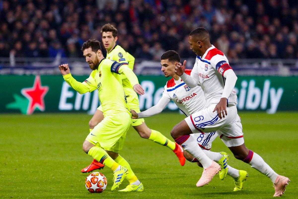 Lyon vs Barcelona Highlights