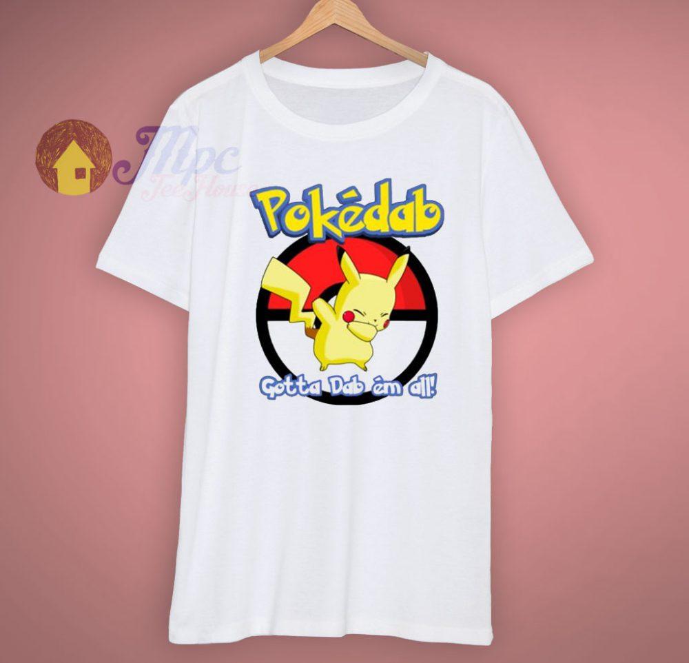 afe3845d959  trendyhalloween Classic Funny Pokemon Go Pokedab Gotta Dab Em All T Shirt  - 15.00 pic.twitter.com CkuBnhRpLg