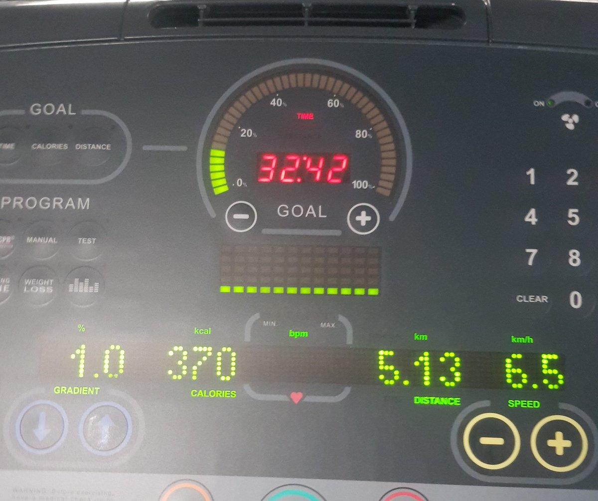 Back on the training wagon!   Managed a slow and steady 5K today with no calf pain!   I might even be able to manage the @WilmslowRF10K if I&#39;m careful, unfortunately it&#39;s not looking good for the half marathon.<br>http://pic.twitter.com/XaFDS3zNNx