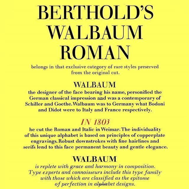 Walbaum italic
