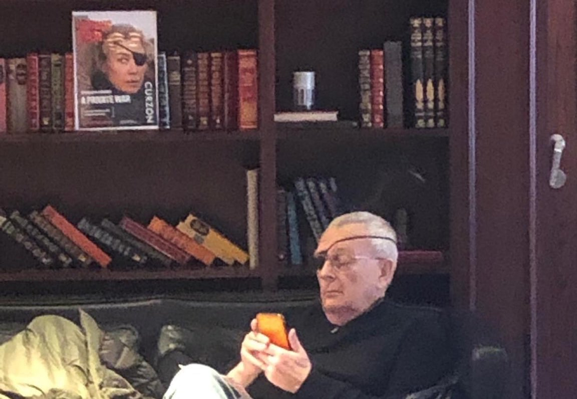 Michael Caine. Marie Colvin.  #RosamundPike. #APrivateWar. In UK theaters now!<br>http://pic.twitter.com/8NRznUSHsr