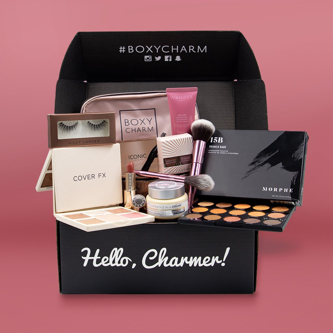🚨 CHARM ALARM! 🚨 You don't want to miss out on BoxyLuxe this March! Upgrade now to get your hands on this exclusive box #Boxycharm #BoxyLuxe