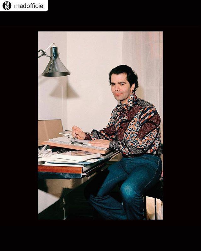 Wow, now what?😓 Such a legend... an incomparable, uncompromising artist.💕 #karllagerfeld #fashion #runway #couture #artist #chanel #chloe #fendi  #Repost @madofficiel • • • • • La légende de la mode s'en est allée. Avant que son style signature n… http://bit.ly/2X9npSo