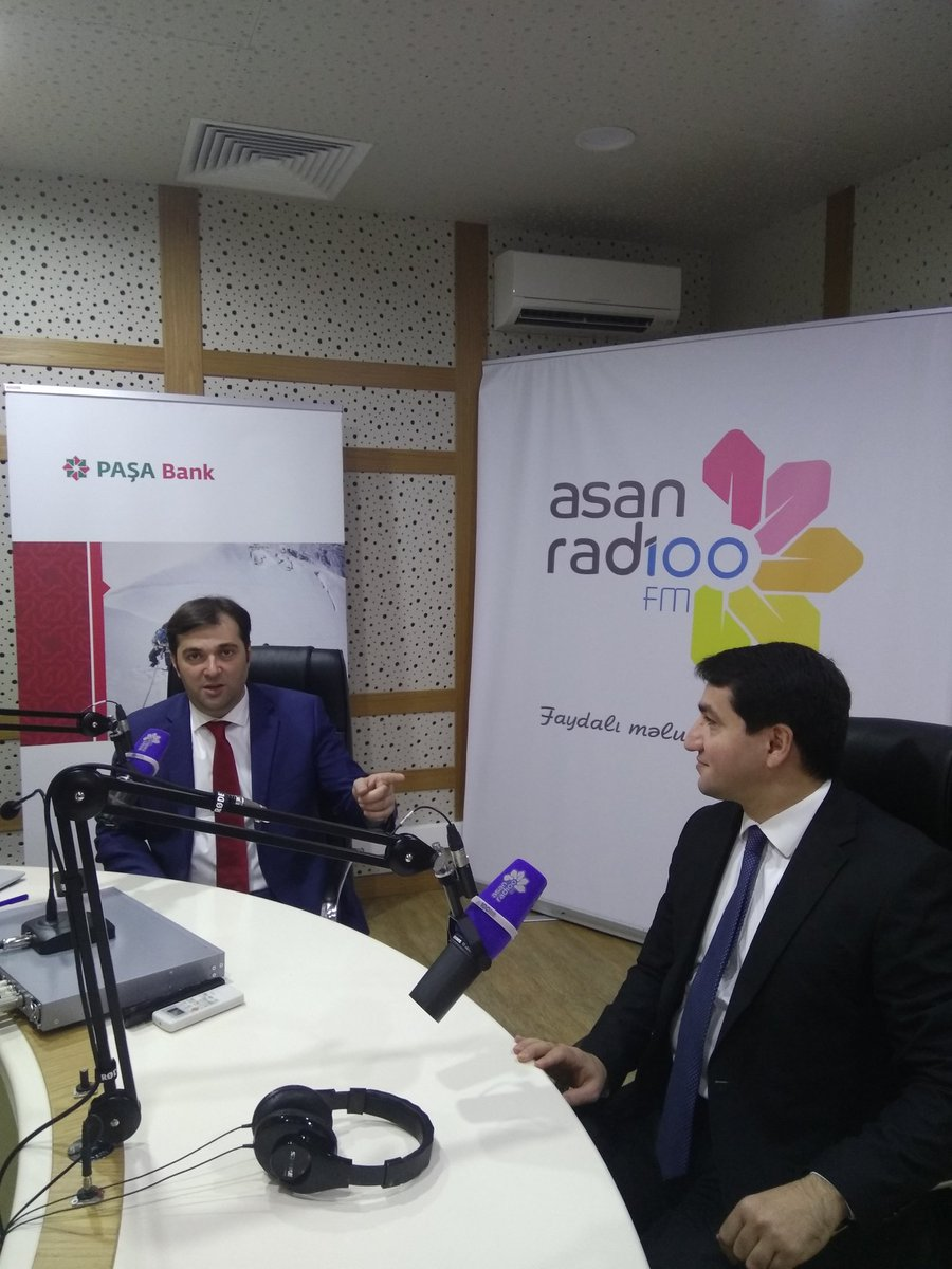 I was extremely delighted to be at #ASAN Radio and answer the questions of professional journalist Emin Musavi. Grateful to Asan Radio team for this excellent opportunity. @asanxidmat #mediafreedom #Azerbaijan<br>http://pic.twitter.com/PV4yweEpba