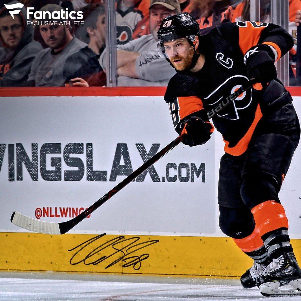 #OTD in 2008, @philadelphiaflyers forward & #FanaticsExclusive athlete @28CGiroux played in first @NHL game. #LetsGoFlyers