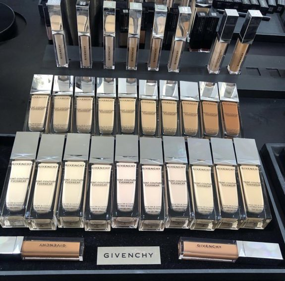 Hi Beauty Community, @givenchy is officially cancelled until further notice. It's 2019, stop making POC an after thought. I've reached out to the brand for a response because this is a JOKE & we need answers. I won't be doing a review and promoting this foolery.