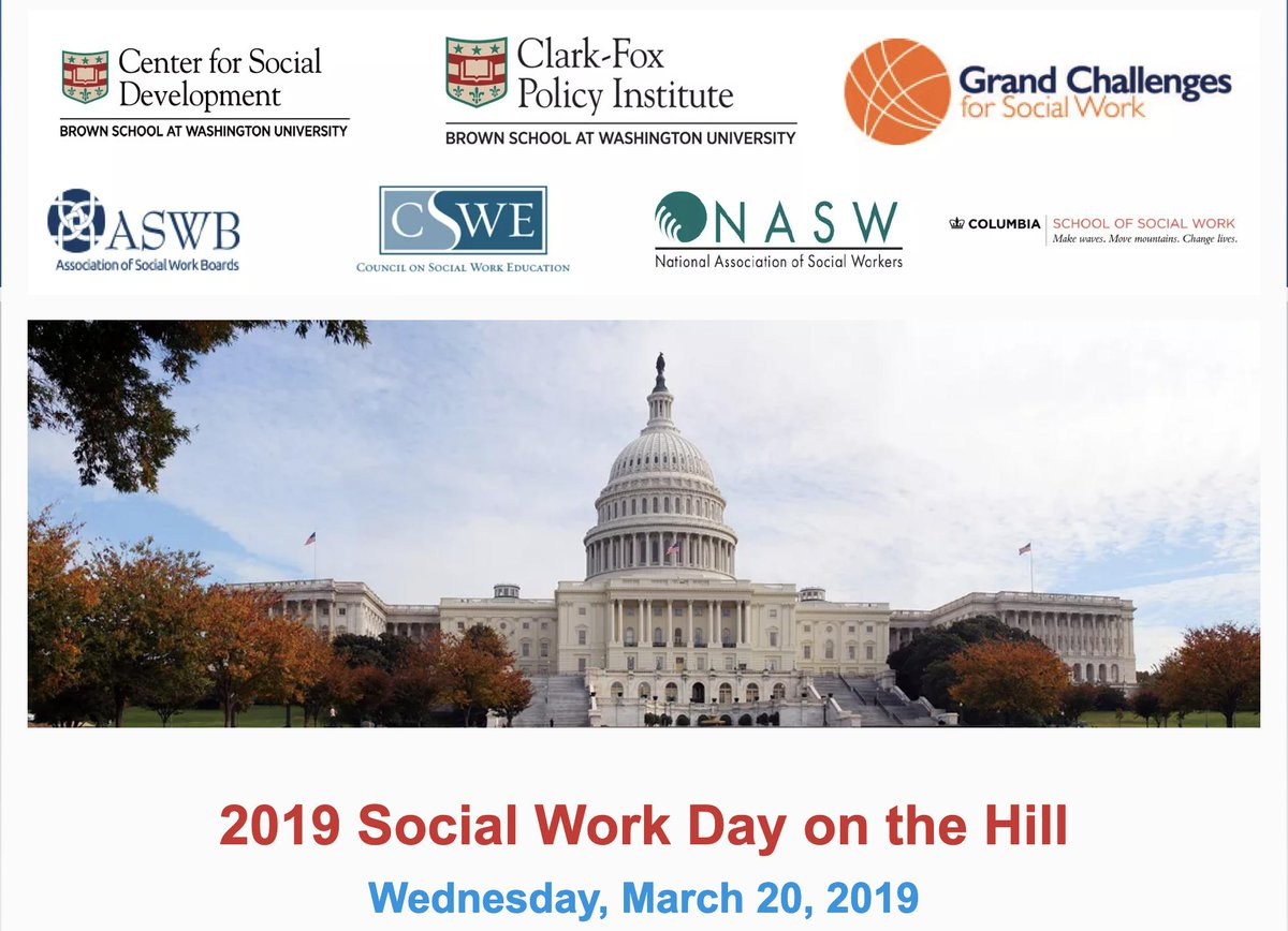 Join us for Social Work Day on the Hill, March 20! #Up4theChallenge crispinc.org/2019-social-wo…