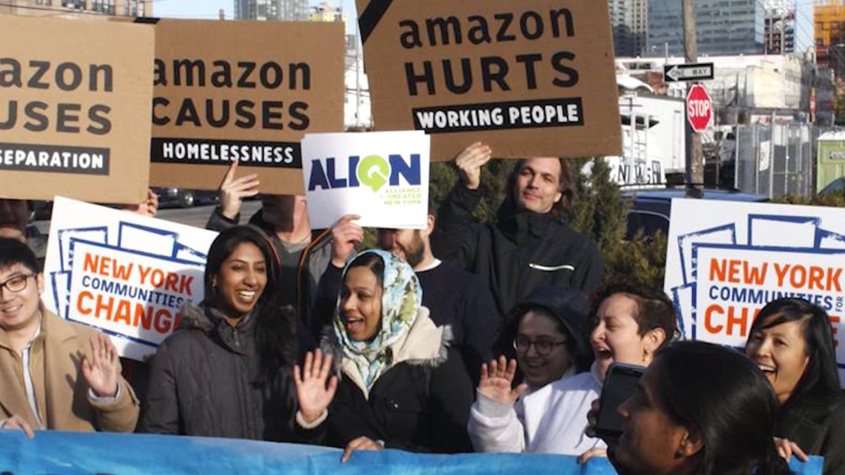 Amazon's Defeat in NYC Galvanizes Movement to End Billion-Dollar Corporate Welfare https://t.co/BjhLKsRWB6 #HQ2