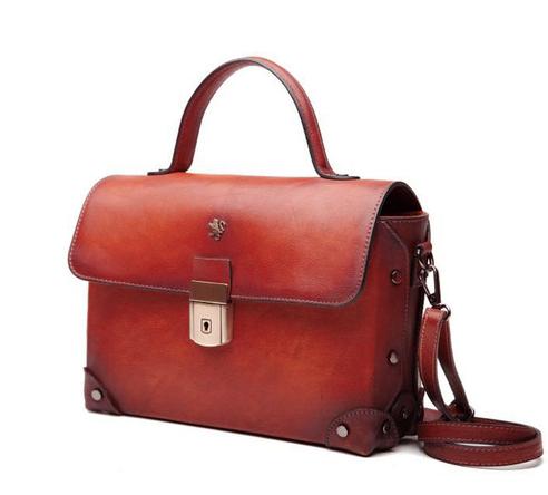d9b46e816e New Bella classic grab  handbag handcrafted by Italian artisans Pratesi in  luxury aged leather in new colours https   www.attavanti.com brands pratesi   sbs ...